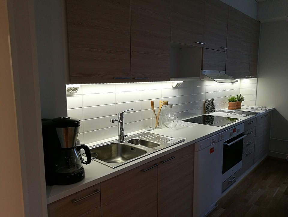 Kitchen Setup With Cabinets   Ghana Pictures