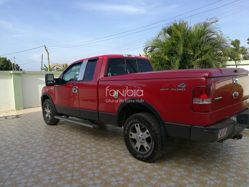 red ford f150 fx4 off road free photo on fonibia. Black Bedroom Furniture Sets. Home Design Ideas