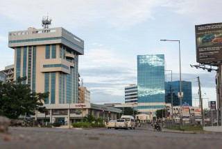 Business district - Airport City, Accra